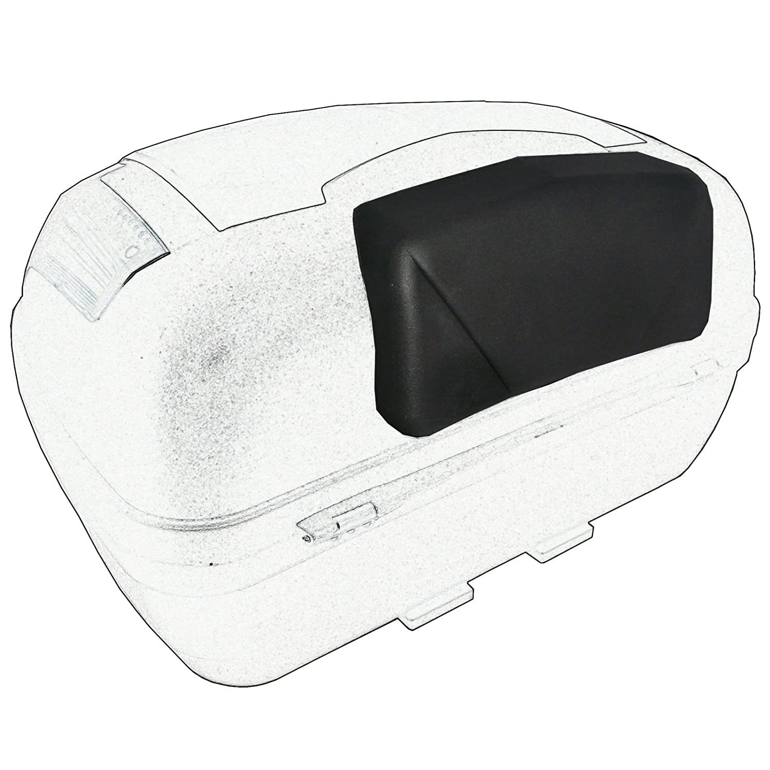 A monopattino Pro Back Rest Top Case Motorcycle and a Universal Motorbike A-Pro 5180000081478