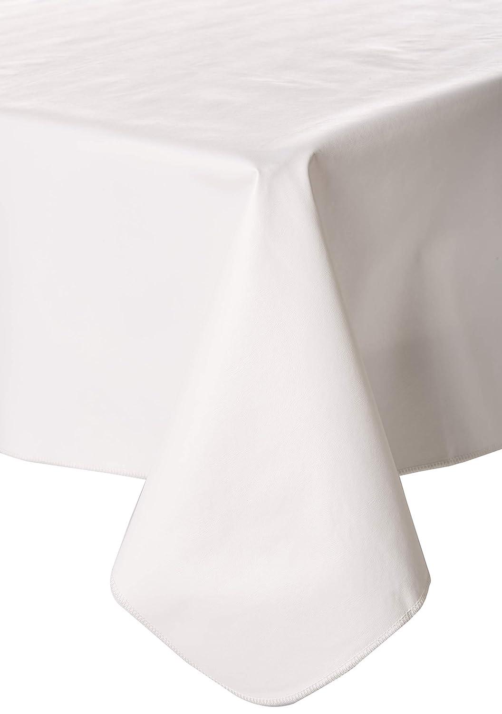 Galaxy Heavyweight Vinyl Tablecloth, 60X120 Oblong (Rectangle), White [Kitchen]