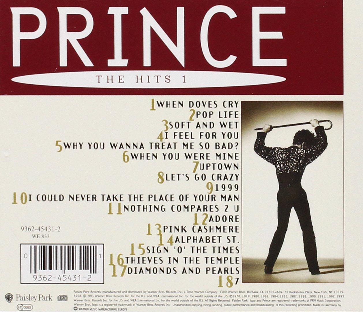 Prince - Prince - The Hits 1 - Amazon.com Music