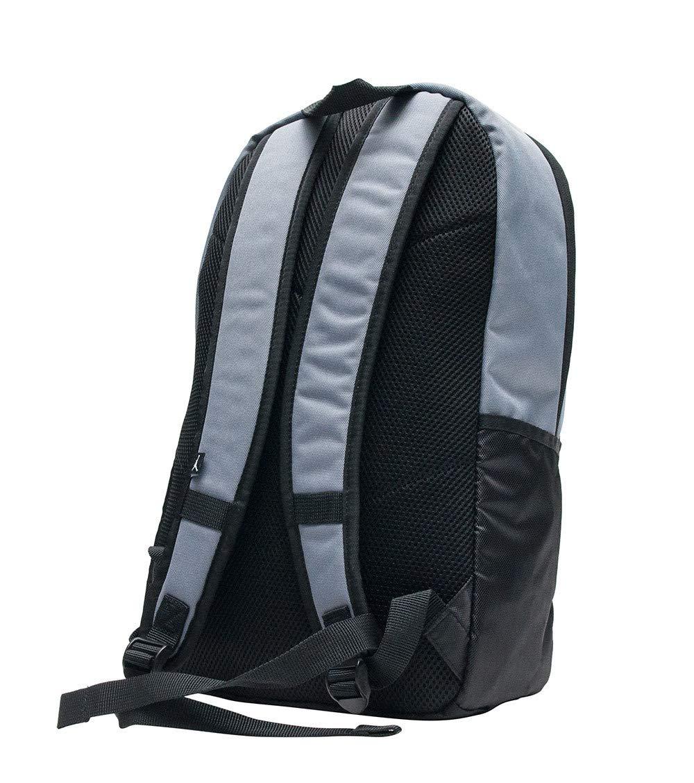 purchase cheap f0183 55e92 Amazon.com  Nike AIR JORDAN Backpack ISO Pack (Black Silver)  Clothing