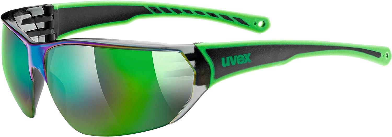 Uvex Sportstyle 204 Gafas de Ciclismo, Unisex Adulto, Verde/Negro, Talla Única: Amazon.es: Deportes y aire libre