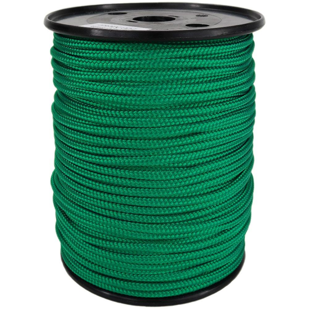 PP Seil Polypropylenseil SH 16mm 250m Farbe Grün (0117) Geflochten