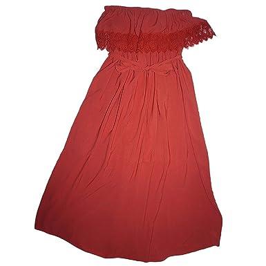 American Rag Plus Size Flounced Maxi Dress Bossa Nova 1x At Amazon
