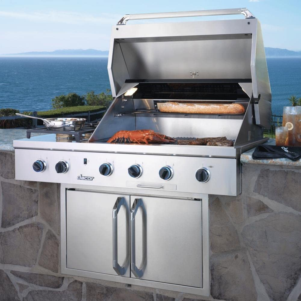 Amazon Com Dacor Stainless Steel Built In Barbecue Grill Obs36ng