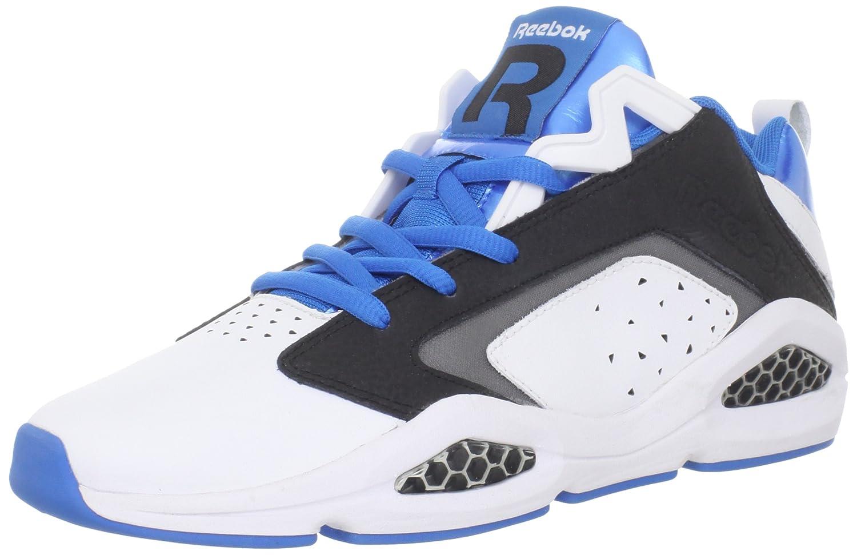 [リーボック] メンズ Viz Hex Bbball Low B006WWRTJ0 White/Black/Modern Blue M