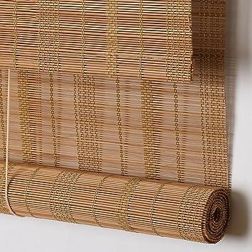 Amazon De Wufeng Bambusrollo Mehrere Farben Rolltor Abgeschnitten