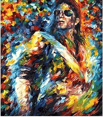 YUUWO Michael Jackson Guitarrista E Clapton Música Heavy Metal ...