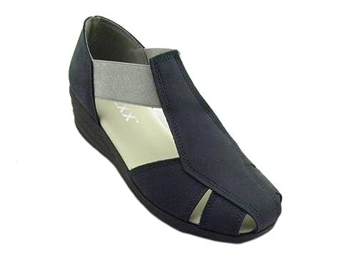 The FLEXX Scarpa Comoda Donna da infilare Belt Blu e190273