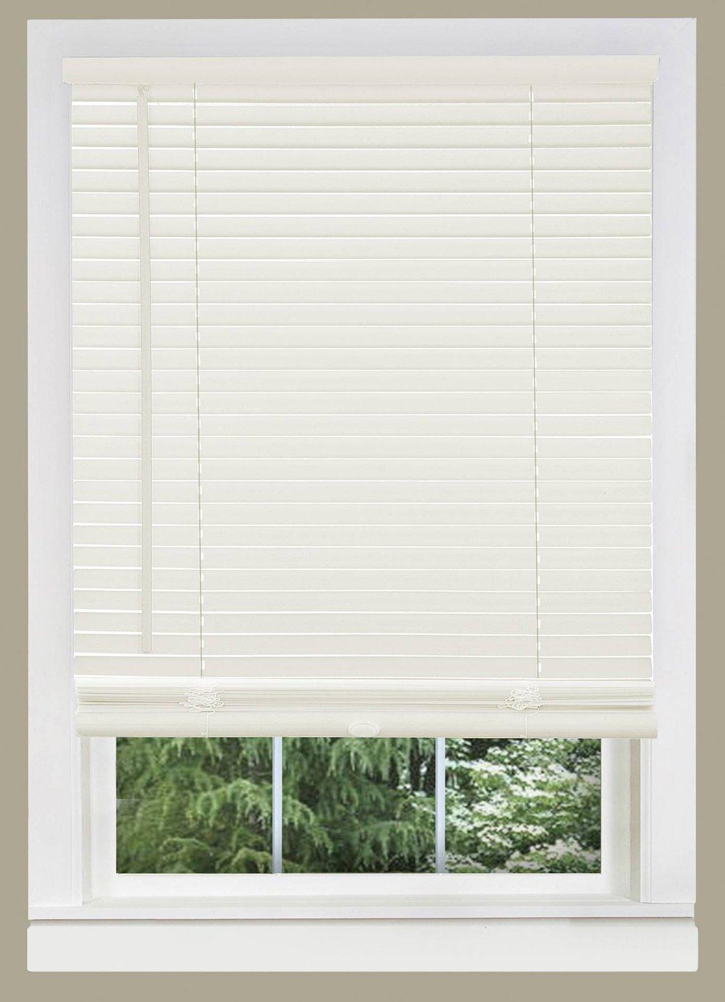 Amazon Com Powersellerusa White Window Blinds 1 Slats Venetian