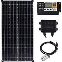 12V 200W Solar Panel Kit Mono 20A Contoller 200 Watt Caravan Camping Charge USB