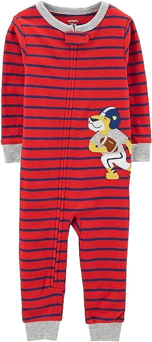 Carters Little Boys Pijama de algodón sin pies de Ajuste cómodo 3 años: Amazon.es: Ropa y accesorios