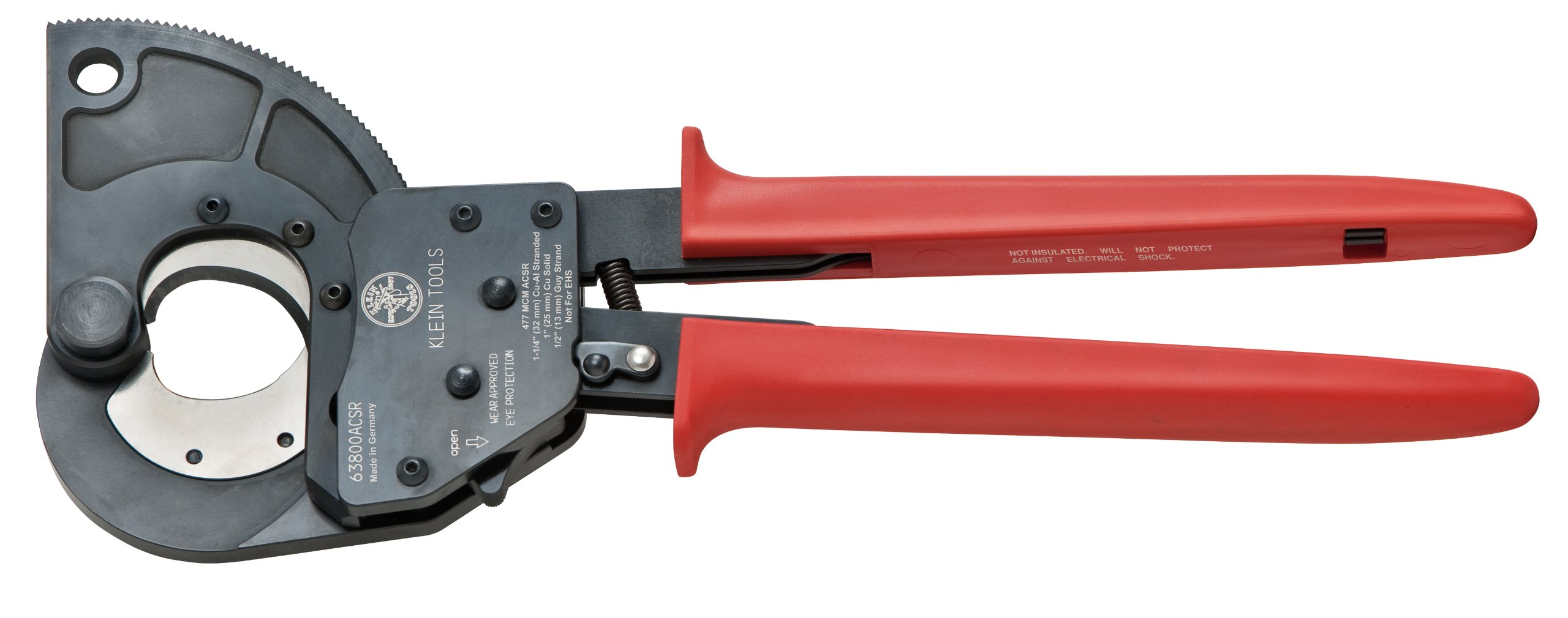 Klein Tools 63800ACSR 1-24 Quantity Ratcheting Cable Cutter by Klein Tools