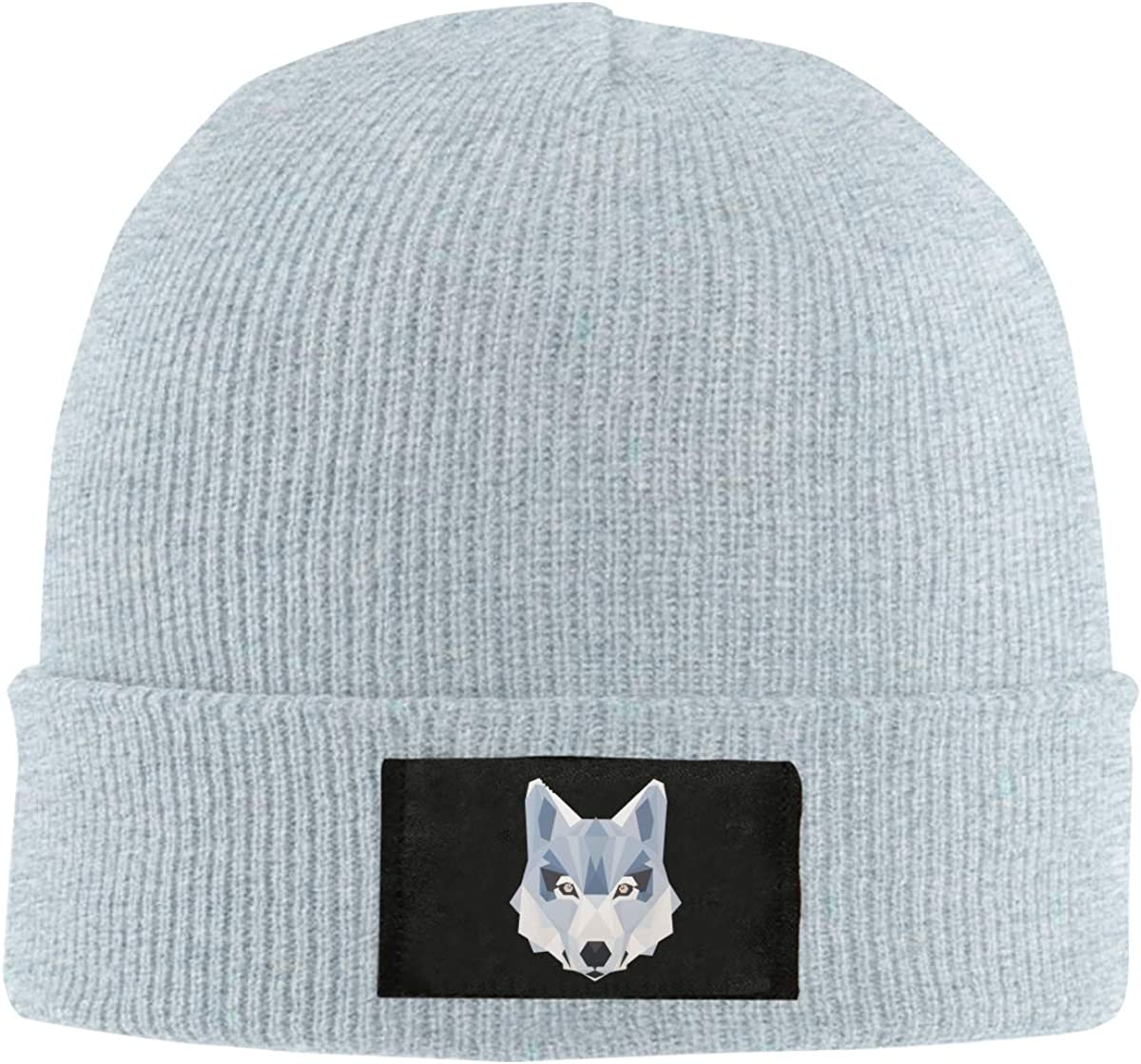 Wolf Animals Winter Beanie Hat Knit Skull Cap for Men /& Women