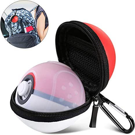 2 en 1 Pokeball Plus Case, funda de transporte compatible con ...