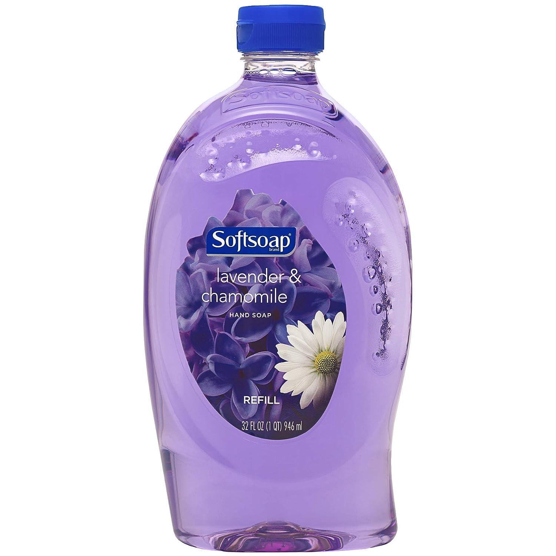 Softsoap Liquid Hand Soap Refill, Lavender and Chamomile, 32 Oz