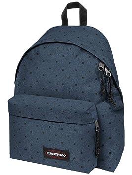 a431c82a15 Eastpack Padded Pak'R Sac à Dos Casual, 40 cm, Black Squares (Bleu ...