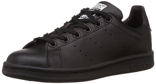c63a66851b3 ... good adidas stan smith scarpe da basket unisex bambini nero blu bianco  d6f2a f66a4
