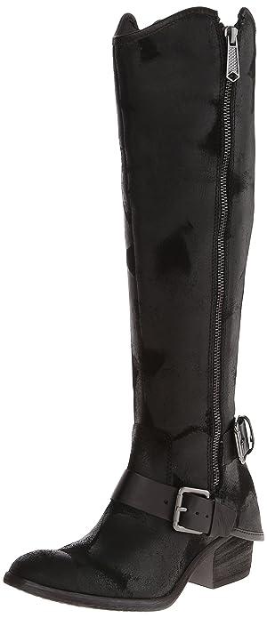 Amazon.com | Donald J Pliner Women's Dela Riding Boot, Black Vintage Suede,  5.5 M US | Knee-High
