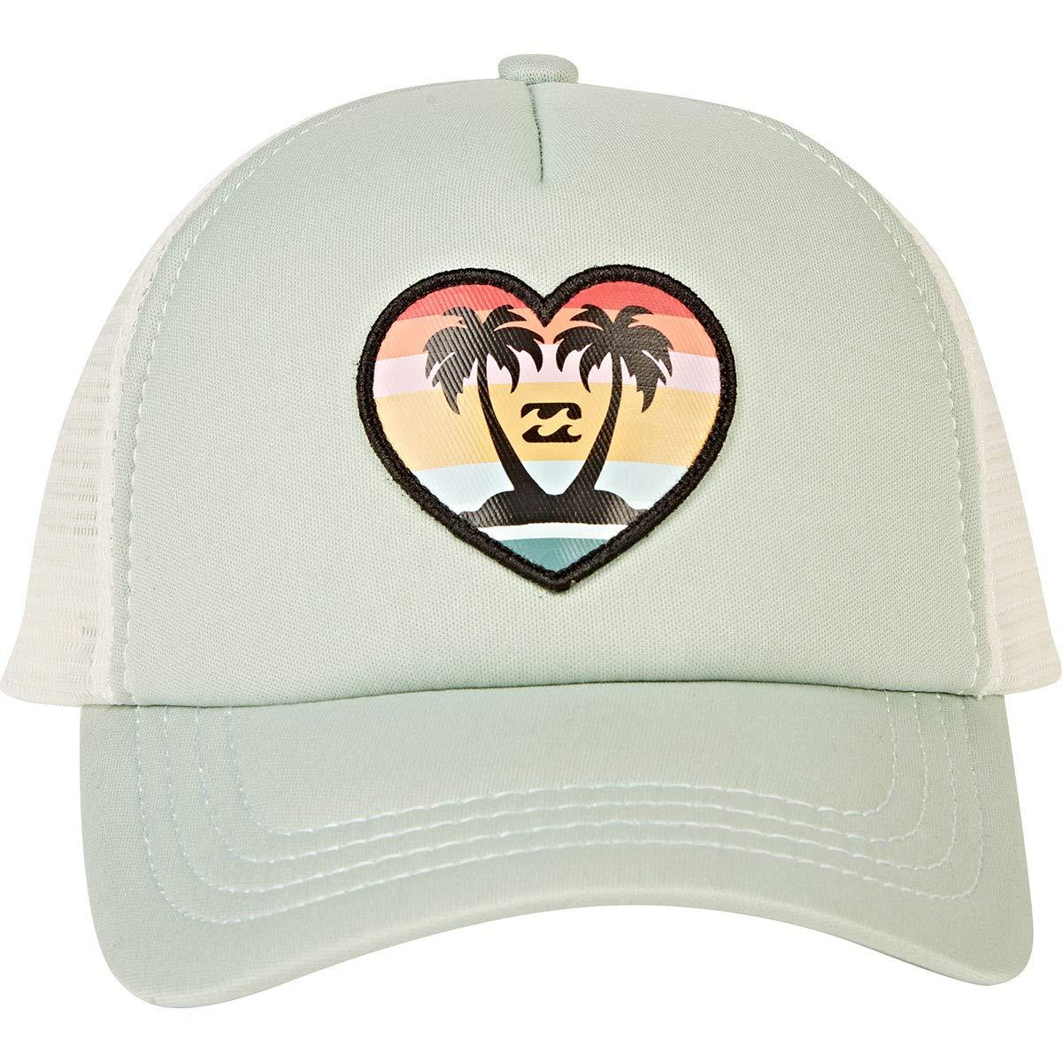 f36b4fd4ad9b6f Amazon.com: Billabong Girls' Girls' Ohana Trucker Hat Bay Breeze One Size:  Clothing