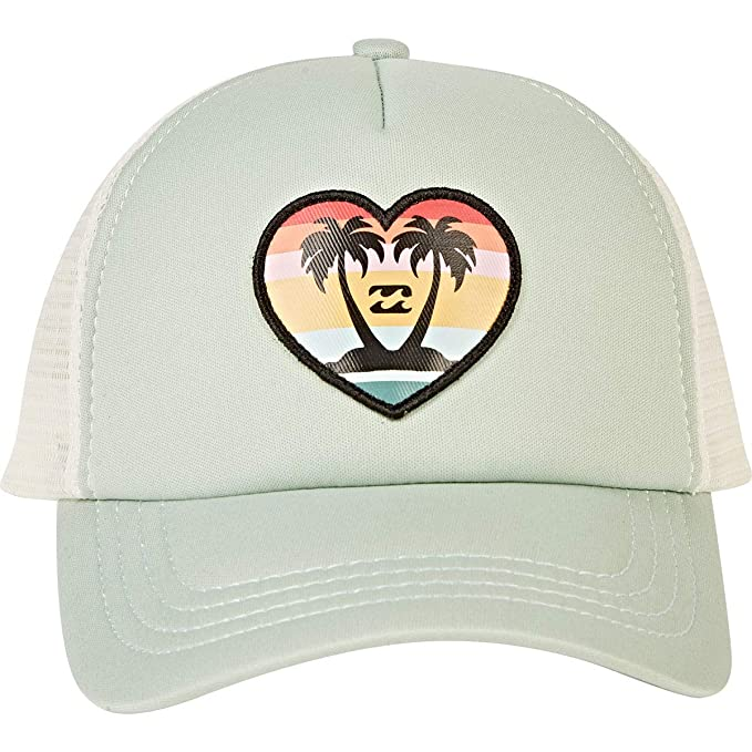 37572e86 Amazon.com: Billabong Girls' Girls' Ohana Trucker Hat Bay Breeze One ...