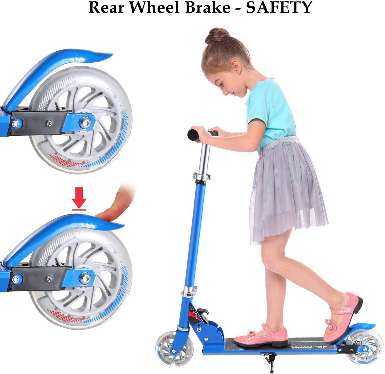 Amazon.com: Hikole Scooter para niños | Scooters Plegable ...