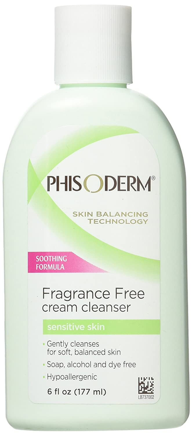 Phisoderm Fragrance Free Cream Cleanser For Sensitive Skin 6 oz MENTHOLATUM INC ME05260