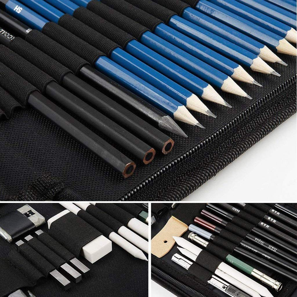 Gaorb 35 Juego de lápices para Pintar, Kit de bocetos ...