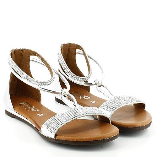 Borse Donna Sandali Tacco itScarpe Follie BassoAmazon E Divine O0Pkwn