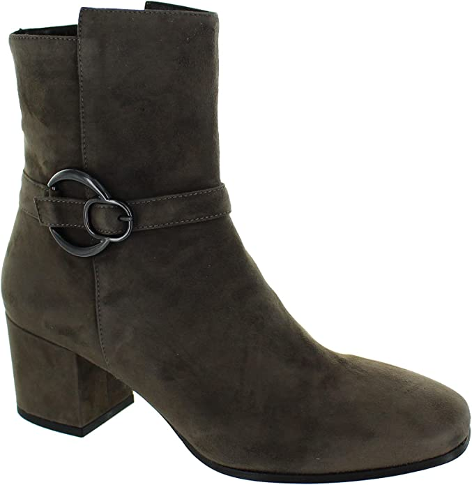 Franco Russo Napoli 7230 gris - Chaussures Bottine Femme