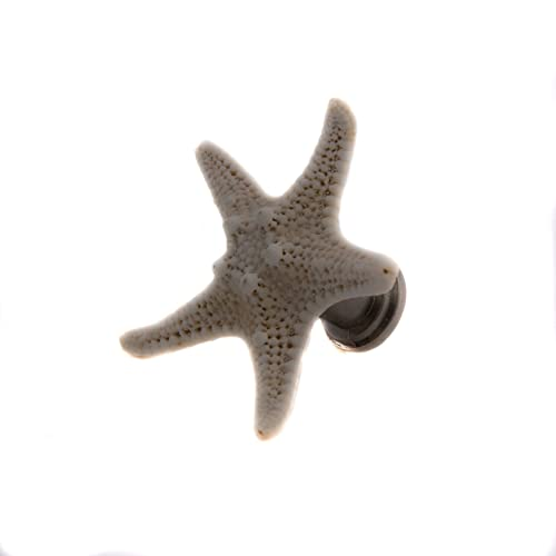 Starfish Drawer Pull // Shell Drawer Hardware // Beach Cabinet Pull // Shell
