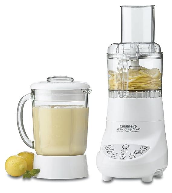Cuisinart BFP-703 SmartPower Duet batidora y procesador de alimentos, blanco Home Supply mantenimiento Store: Amazon.es: Hogar