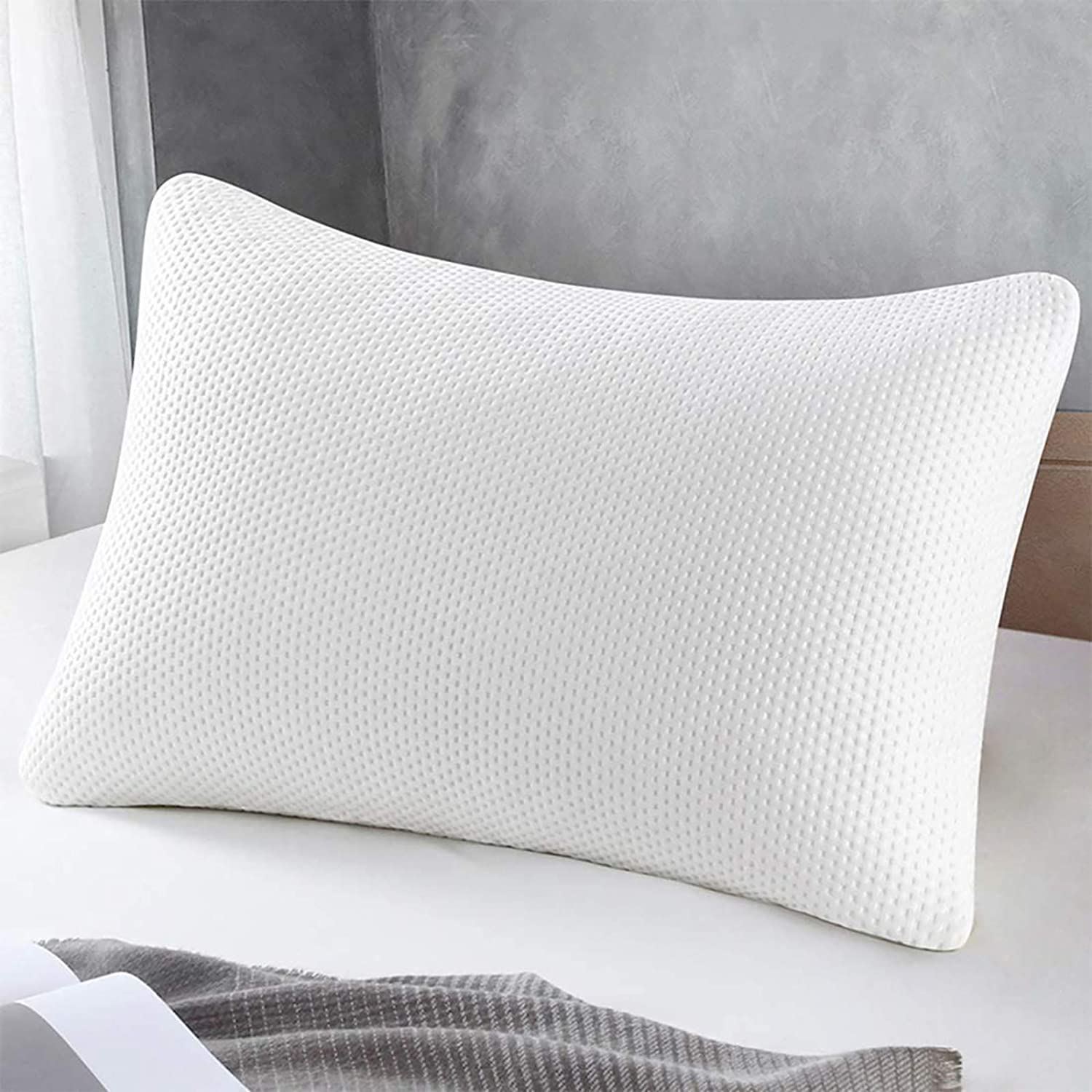 SWTMERRY Memory Foam Pillow, Queen Size