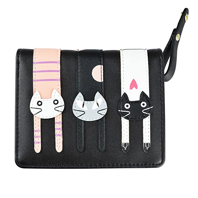 Amazon.com: Bolso corto para niña con diseño de gato, con ...
