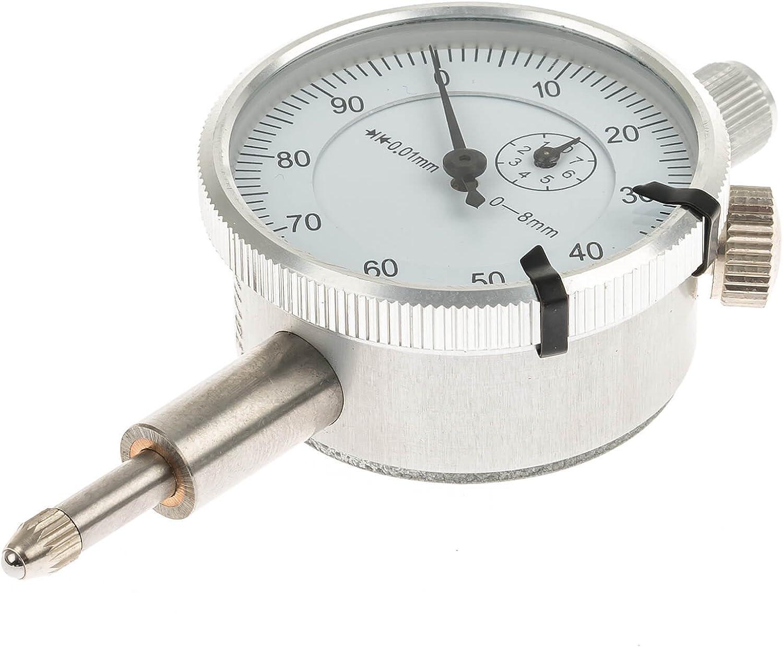 Satra S-XCC - Medidor analógico para trípode magnético (0,01 mm)