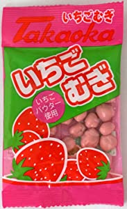 Takaoka Wheat Strawberry Chocolate 20 packages Japanese Famous Junk Food Snack Dagashi