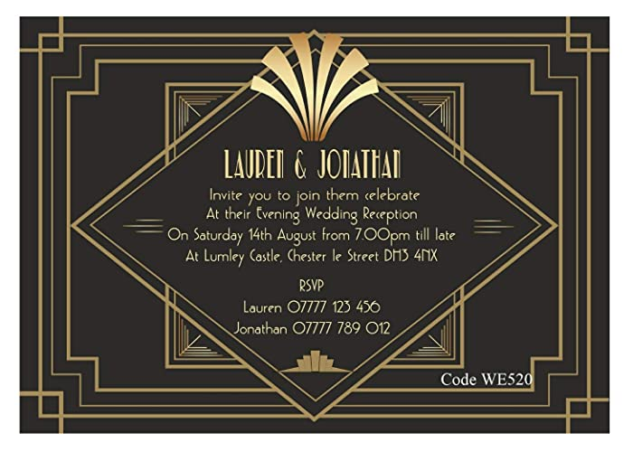 Personalised Wedding Day Ceremony Or Wedding Evening Reception