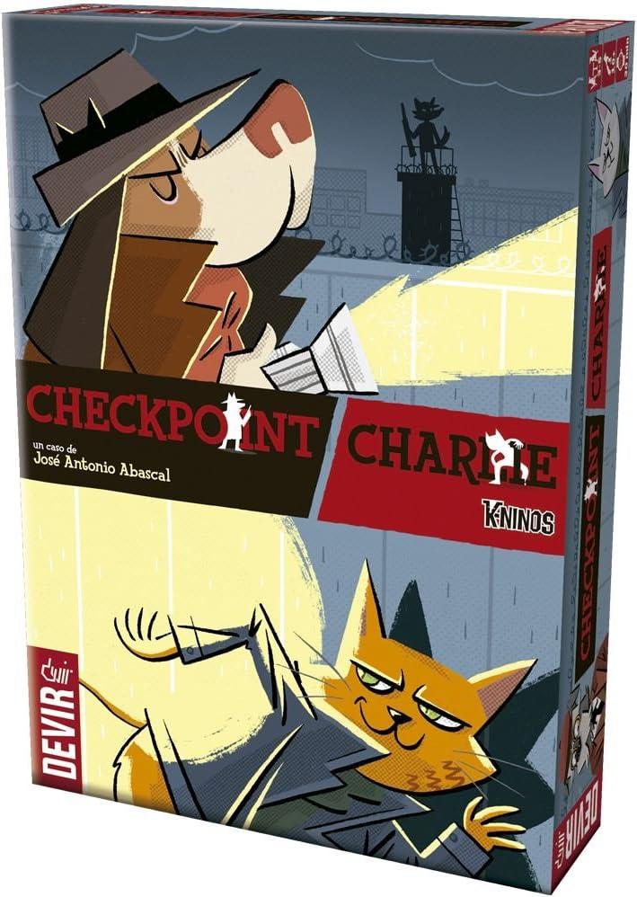 Devir - Checkpoint Charlie, juego de cartas, edición española ...