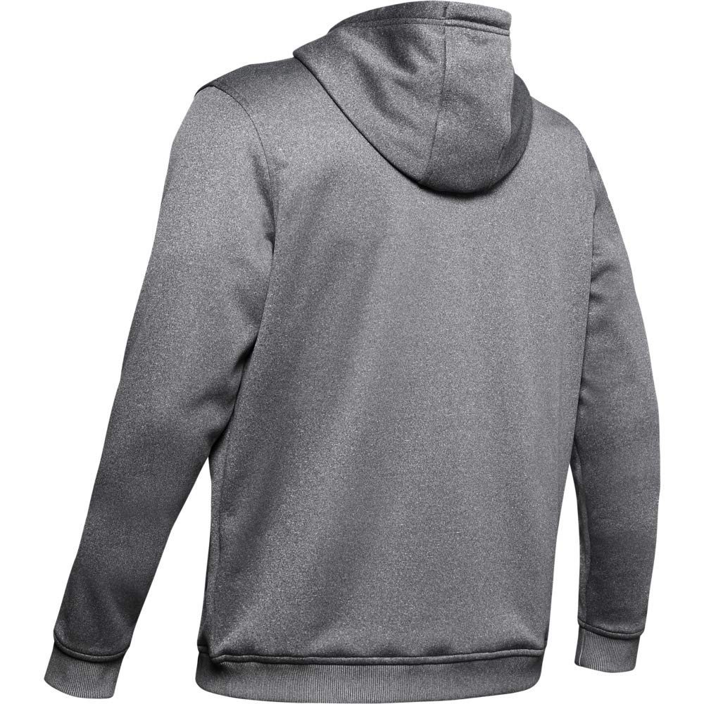 Under Armour Mens Fleece Pullover Hoodie Big Logo Graphic