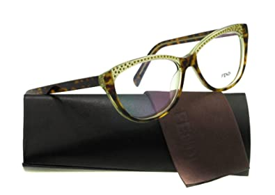 145e74240ae Image Unavailable. Image not available for. Color  Fendi Eyeglasses F 1003R  HAVANA 220 F1003R