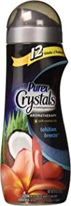 Purex Crystals Aromatherapy Tahitian Breeze Laundry Fragrance Booster 18 Ounce