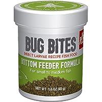 Fluval Bug Bites Alleen Voering voor op de Grond Etende Vissen, S-M, per Stuk Verpakt (1 x 45 g)