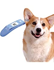Fast Clinical Pet Thermometer for Dogs, Cats,Rabbits and Big Ear Animals with 3 Switchable Modes (Body,Object Surface Temp,Room), Body Modes accurately Measures pet Ear Temperature, C/F Switchable