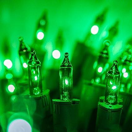 purelock green mini christmas lights christmas string lights string christmas tree lights green