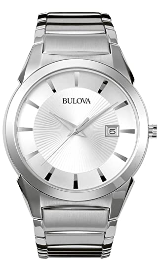 Bulova Men's Classic Stainless Steel Dress Watch best minimalist watches for men