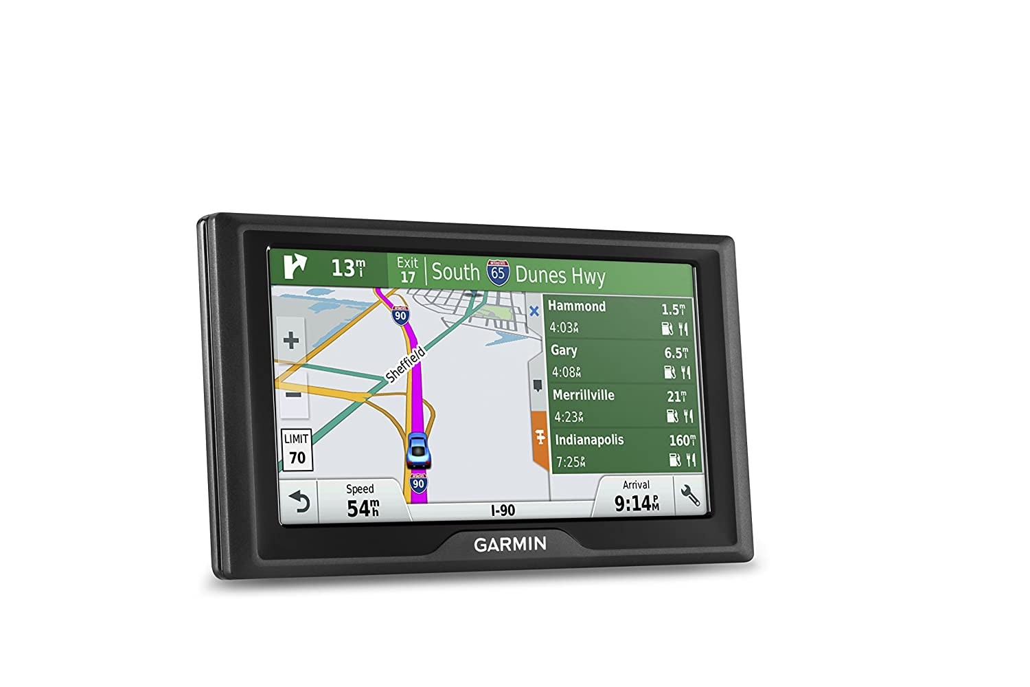 Amazon.com: Garmin Drive 60 USA LMT GPS Navigator System with Lifetime Maps  and Traffic, Driver Alerts, Direct Access, and Foursquare data: GARMIN:  Cell ...