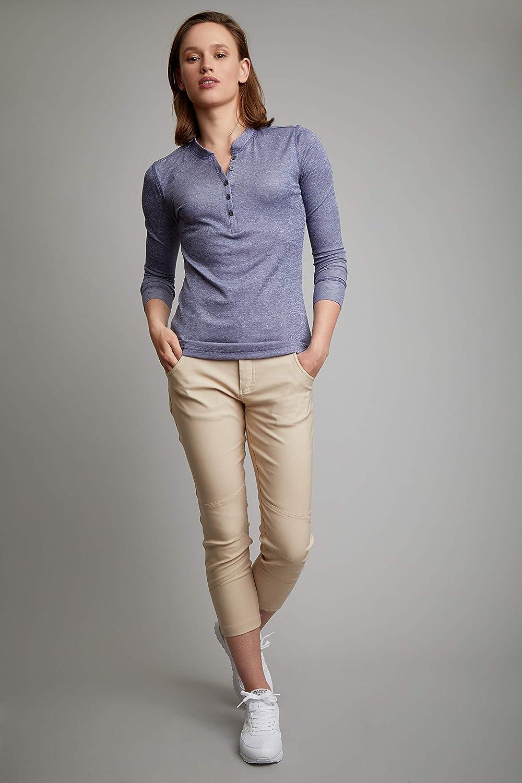 Black HI-TEC Flex Womens Water Repellent Antler Outdoor Skinny Capri Pant Size 8