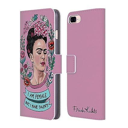 Amazon.com: Frida Kahlo - Funda de piel para iPhone 7 Plus y ...