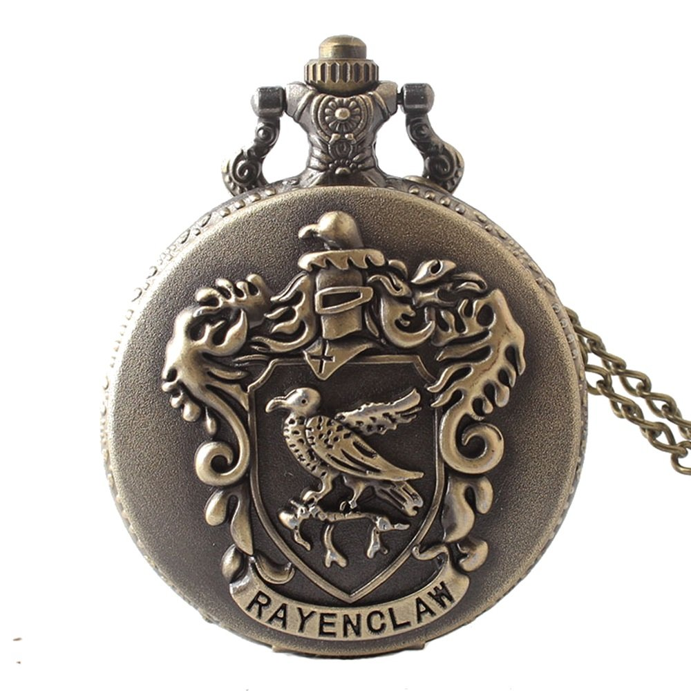 Shirleyle Classic Bronze Vintage Pocket Watch With Chain For Women Men