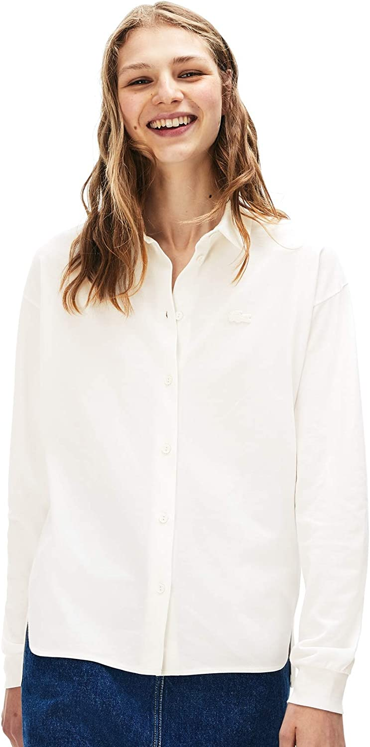 PF8661 Polo Manches Longues Femme Lacoste