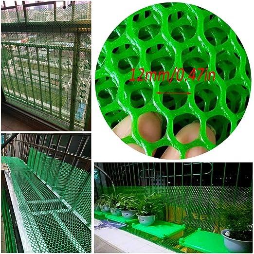Seguridad Niños Acoplamiento De La Red Balcón Y Escalera Protector De Plástico De Seguridad Barandilla - Juguete del Niño Los Niños De Seguridad For Mascotas Escaleras Protector, Verde: Amazon.es: Productos para mascotas